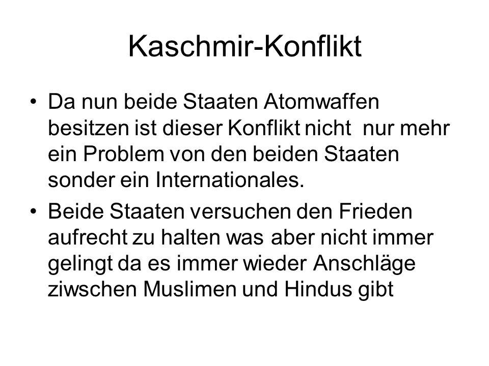 Kaschmir-Konflikt