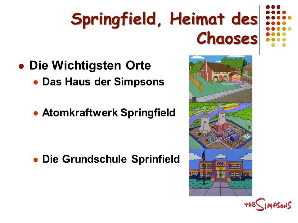Springfield, Heimat des Chaoses