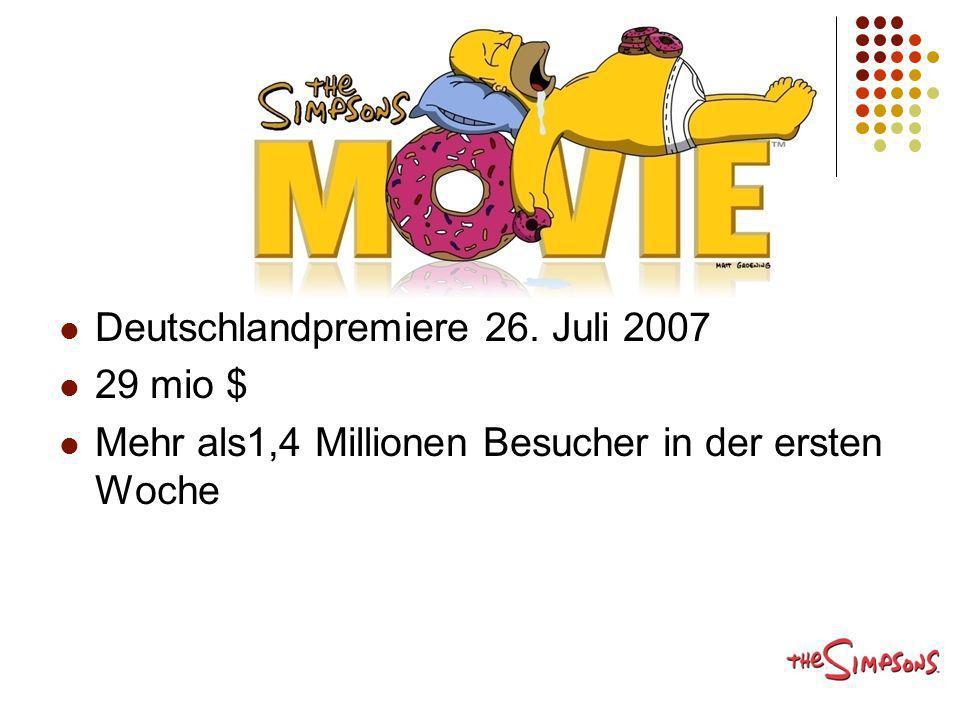 Deutschlandpremiere 26. Juli 2007
