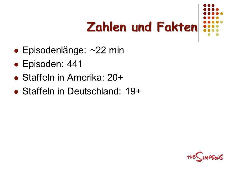 Zahlen und Fakten Episodenlänge: ~22 min Episoden: 441