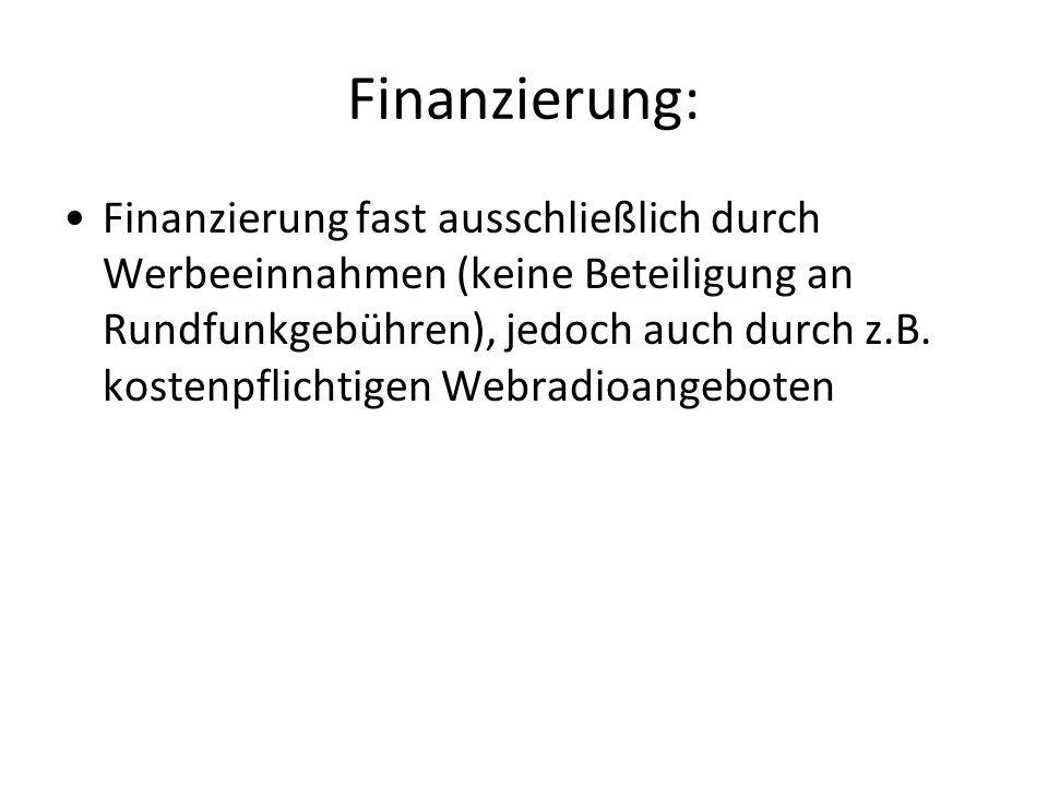 Finanzierung: