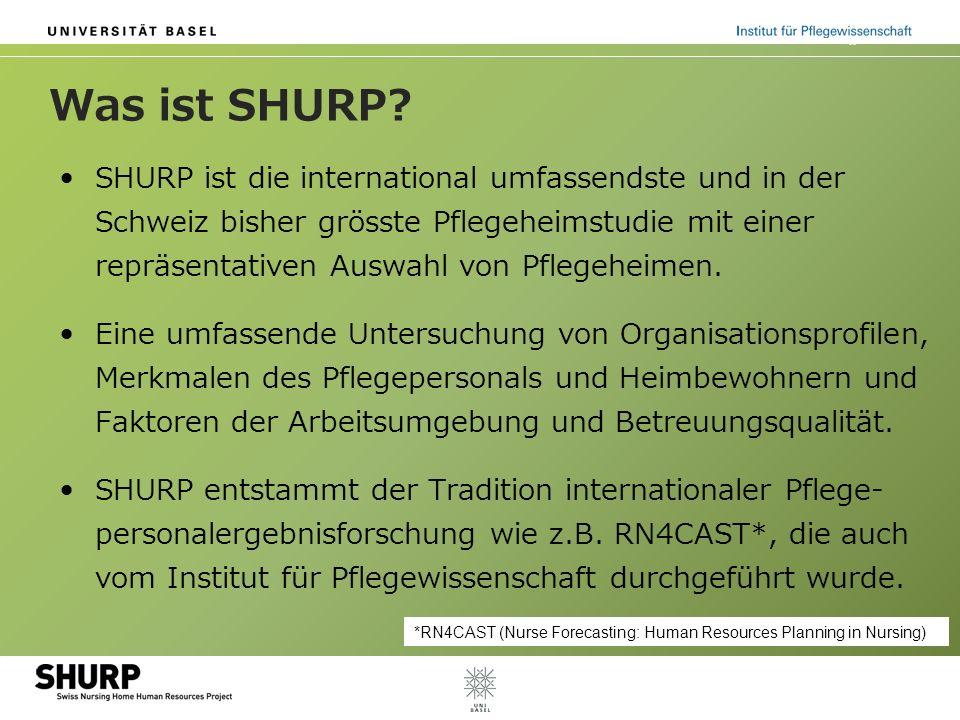 Was ist SHURP