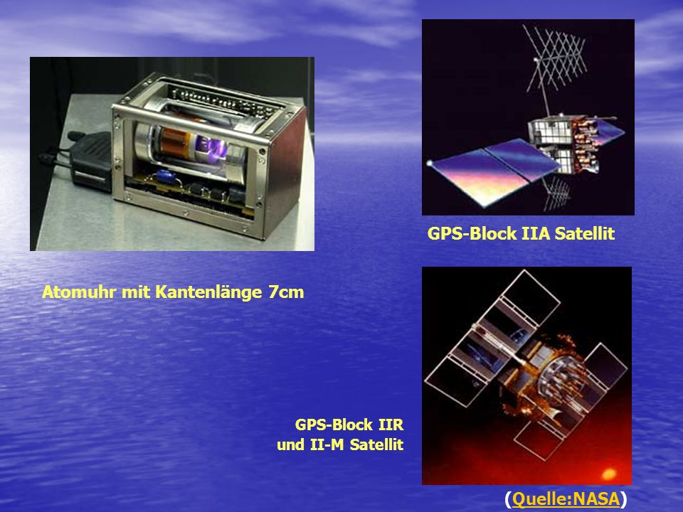 GPS-Block IIA Satellit