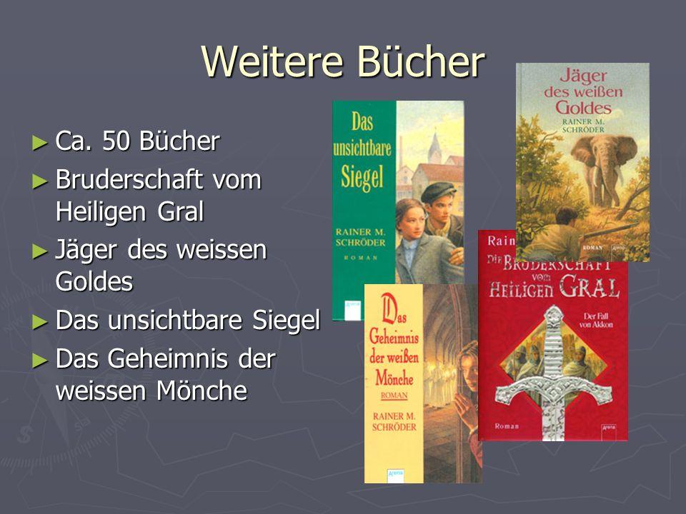 Weitere Bücher Ca. 50 Bücher Bruderschaft vom Heiligen Gral