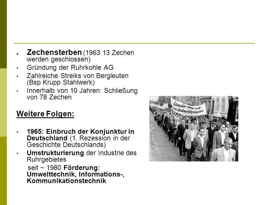 Weitere Folgen: Gründung der Ruhrkohle AG