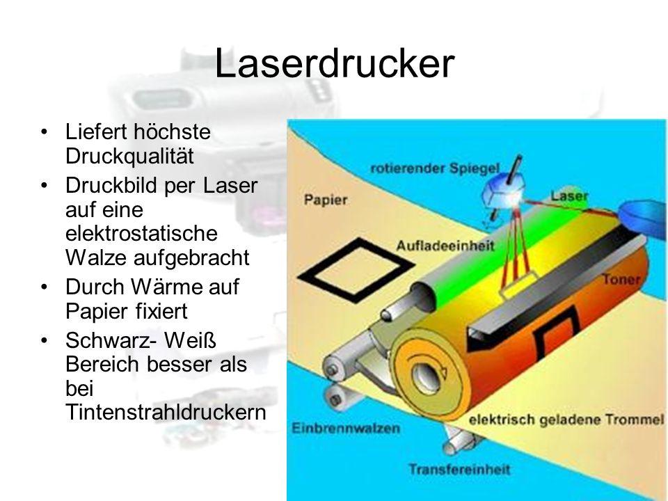 Laserdrucker Liefert höchste Druckqualität