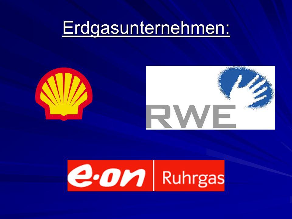 Erdgasunternehmen: