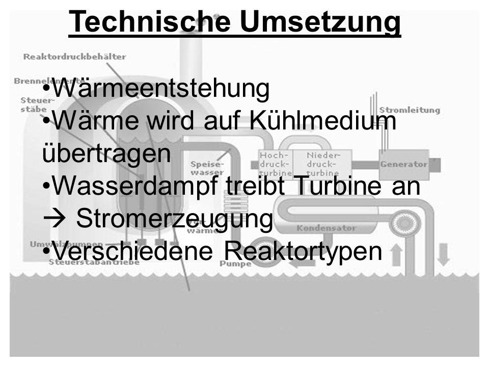 Technische Umsetzung Wärmeentstehung
