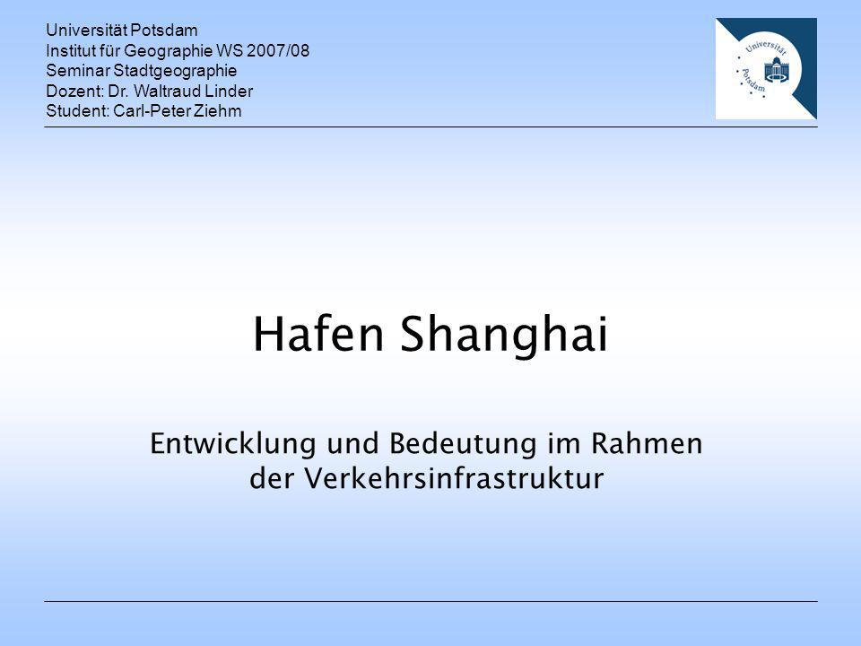 Entwicklung und Bedeutung im Rahmen der Verkehrsinfrastruktur - ppt ...