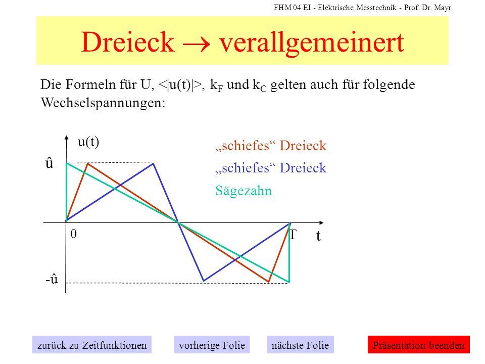 Dreieck  verallgemeinert