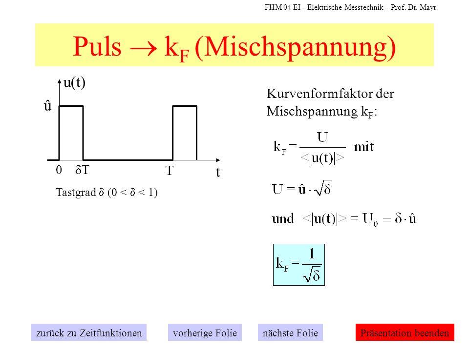 Puls  kF (Mischspannung)