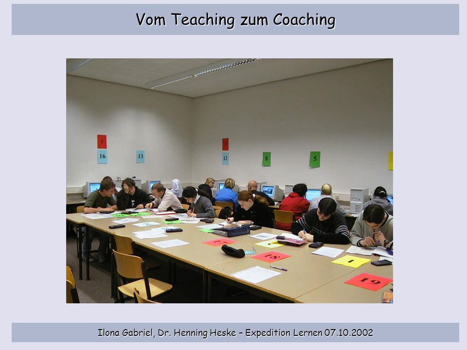 Vom Teaching zum Coaching