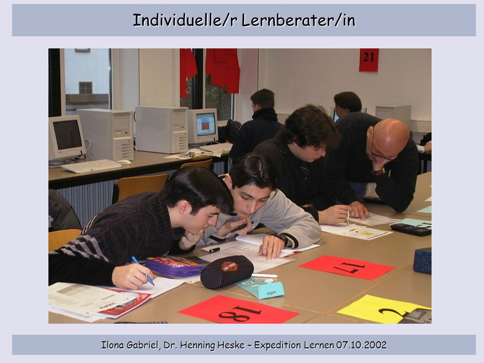Individuelle/r Lernberater/in