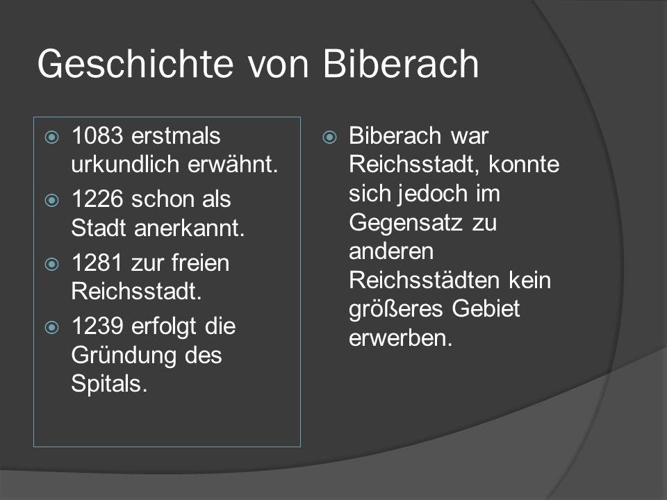 Geschichte von Biberach