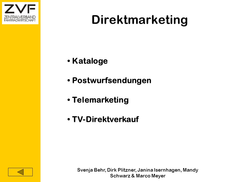 Direktmarketing Kataloge Postwurfsendungen Telemarketing