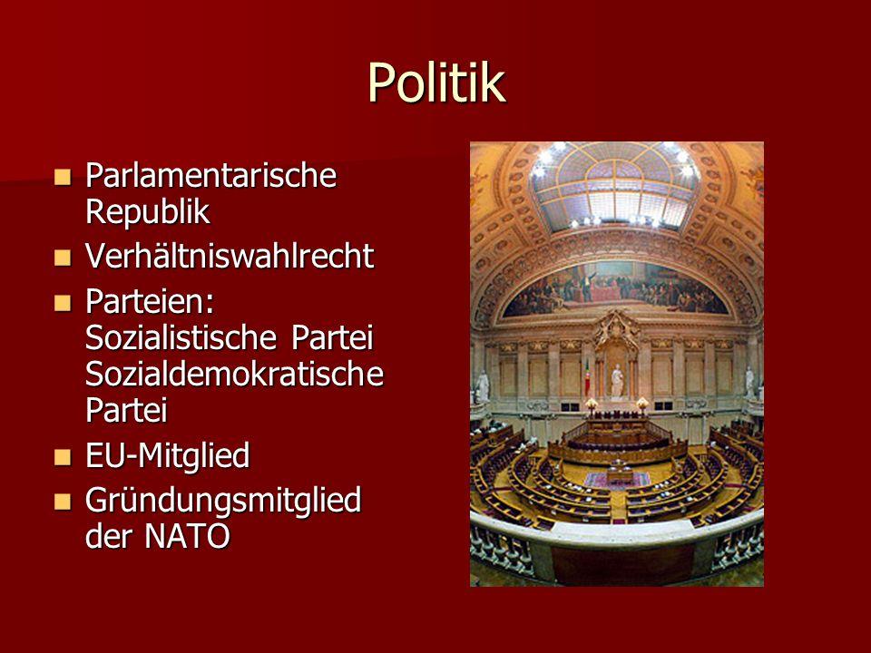 Politik Parlamentarische Republik Verhältniswahlrecht