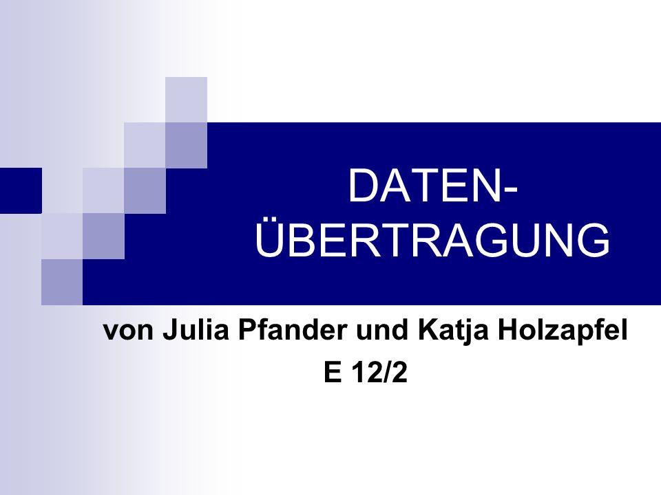 von Julia Pfander und Katja Holzapfel E 12/2