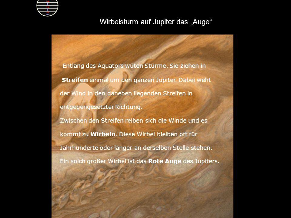 """Wirbelsturm auf Jupiter das """"Auge"""