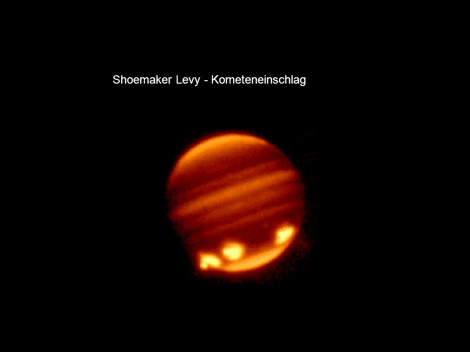 Shoemaker Levy - Kometeneinschlag