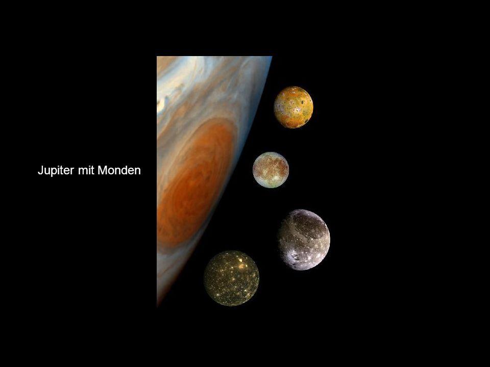 Galileimonde Jupiter mit Monden