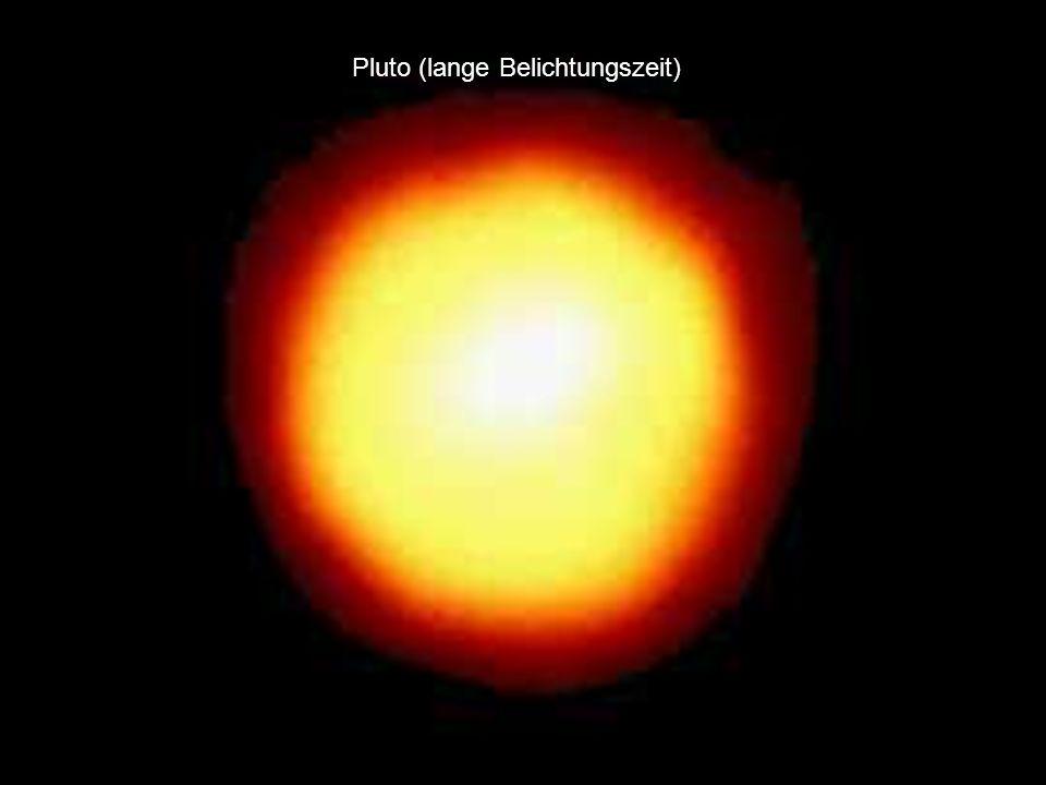 Pluto (lange Belichtungszeit)