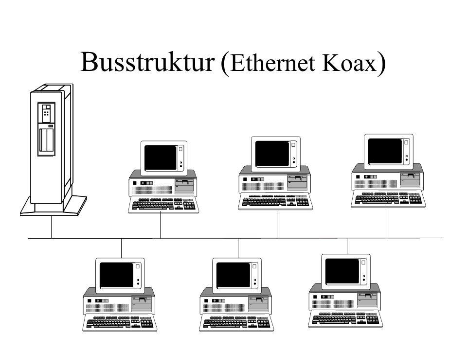 Busstruktur (Ethernet Koax)