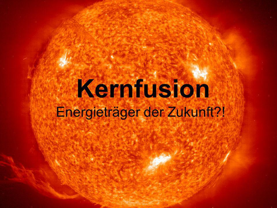 Energieträger der Zukunft !