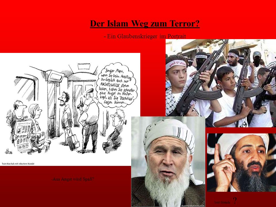 Der Islam Weg zum Terror