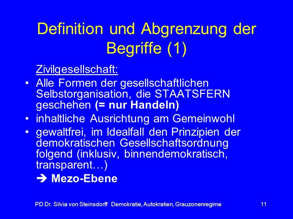 Definition und Abgrenzung der Begriffe (1)