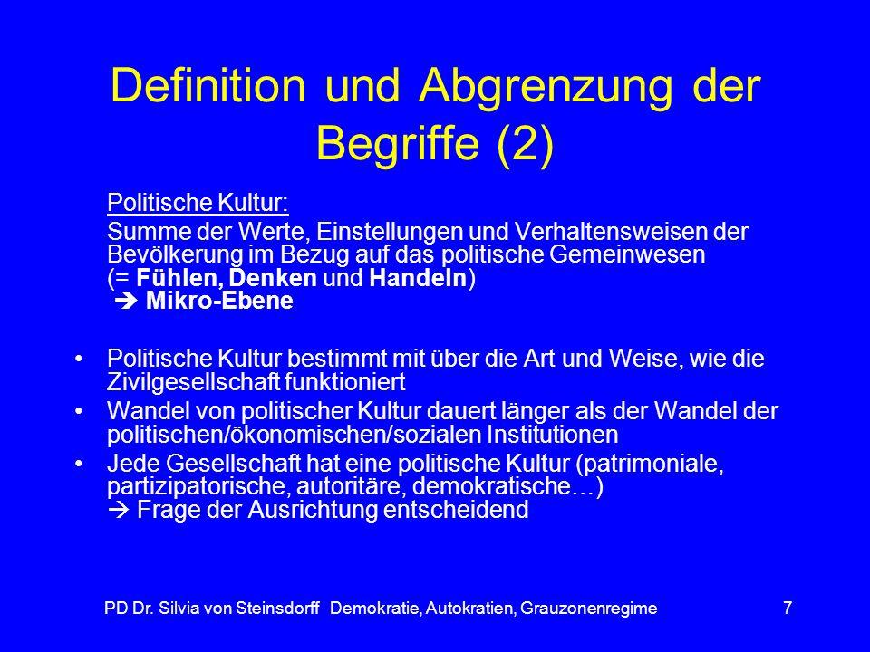 Definition und Abgrenzung der Begriffe (2)