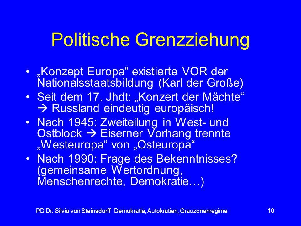 Politische Grenzziehung