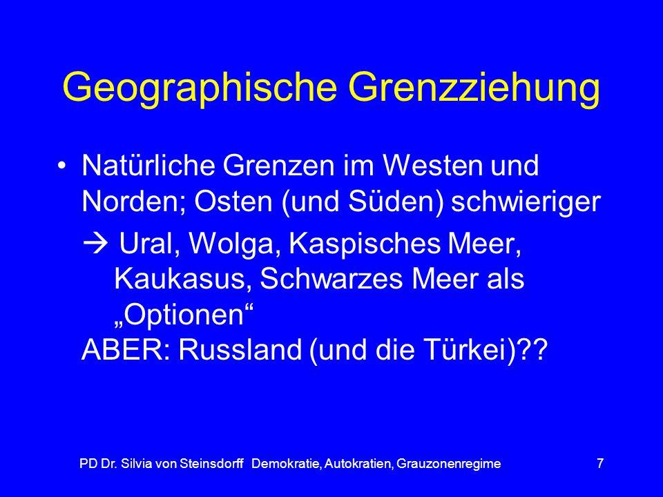 Geographische Grenzziehung