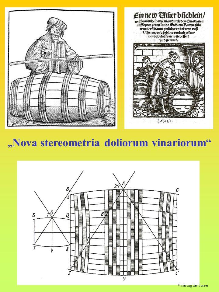 """""""Nova stereometria doliorum vinariorum"""