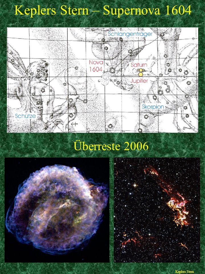 Keplers Stern – Supernova 1604