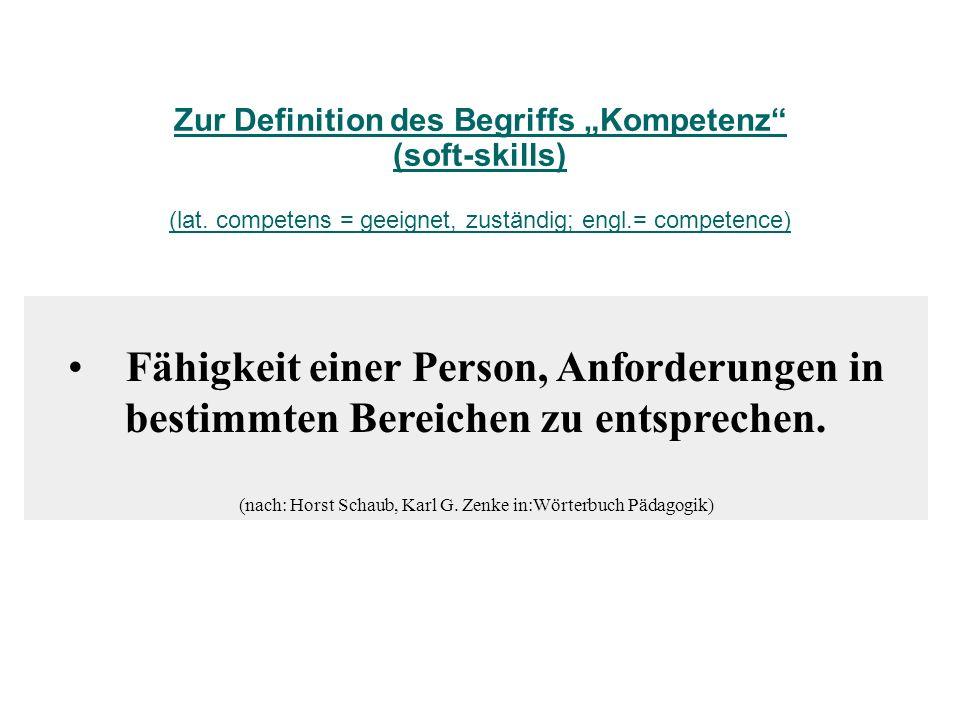 (nach: Horst Schaub, Karl G. Zenke in:Wörterbuch Pädagogik)