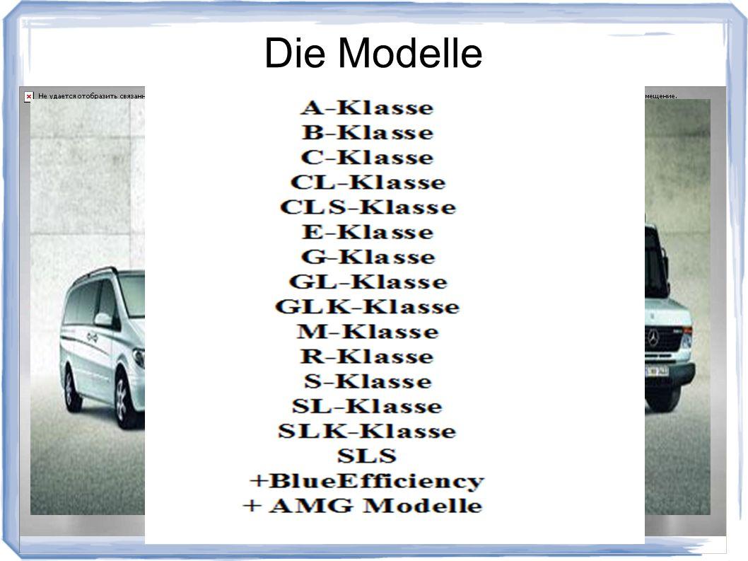 Die Modelle