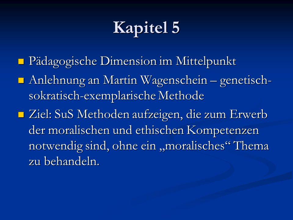 Kapitel 5 Pädagogische Dimension im Mittelpunkt
