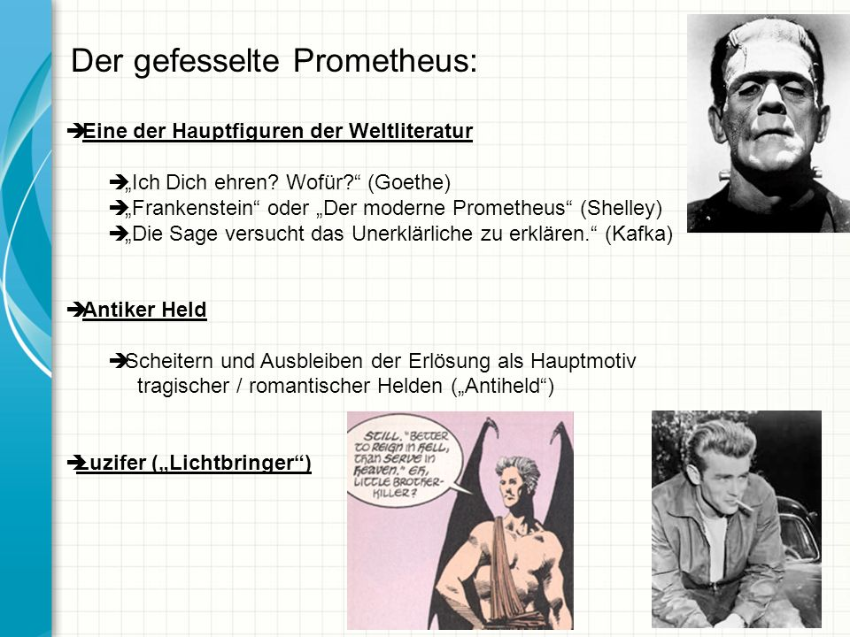 Der gefesselte Prometheus: