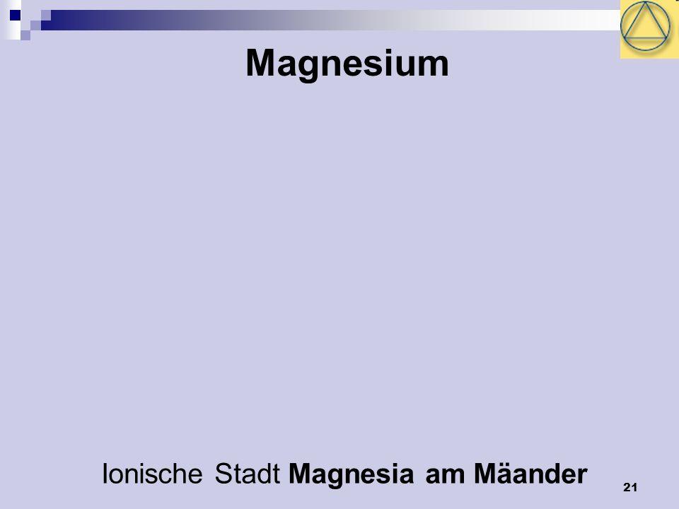 Ionische Stadt Magnesia am Mäander