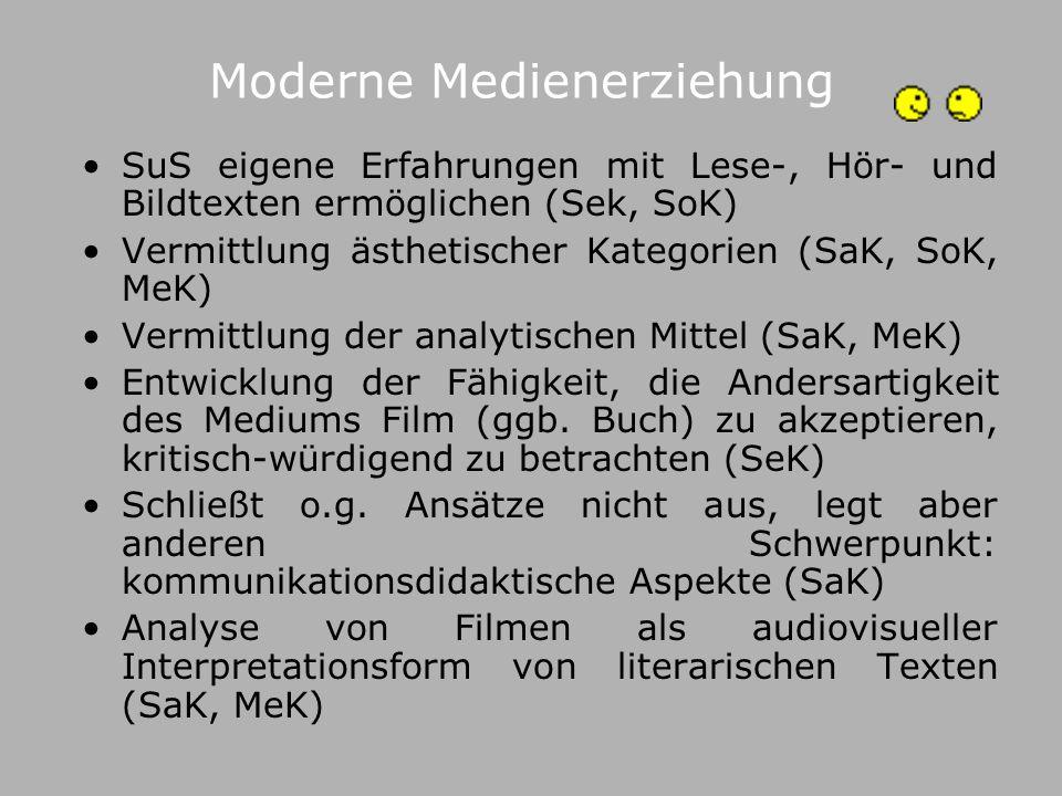 Moderne Medienerziehung