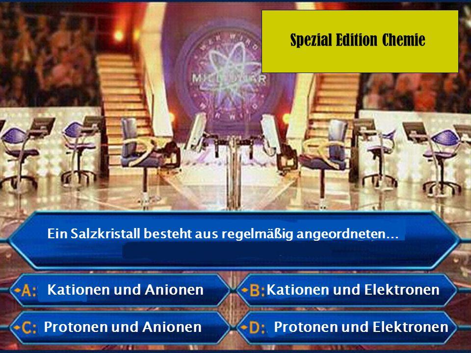 Kationen und Elektronen