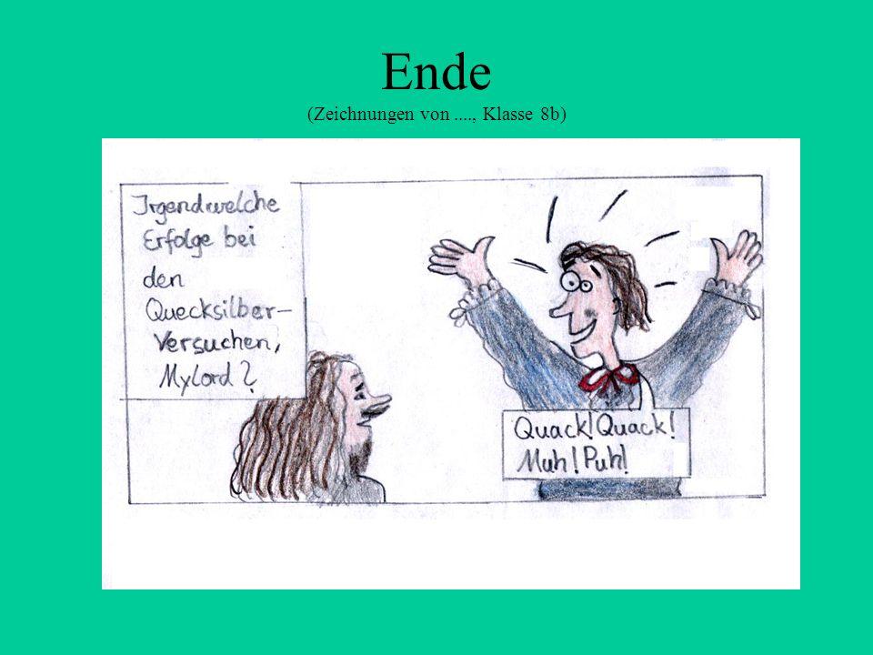 Ende (Zeichnungen von ...., Klasse 8b)