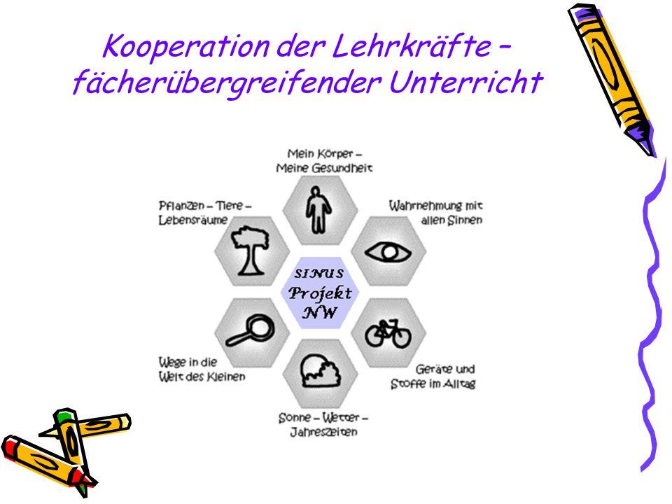 Kooperation der Lehrkräfte – fächerübergreifender Unterricht