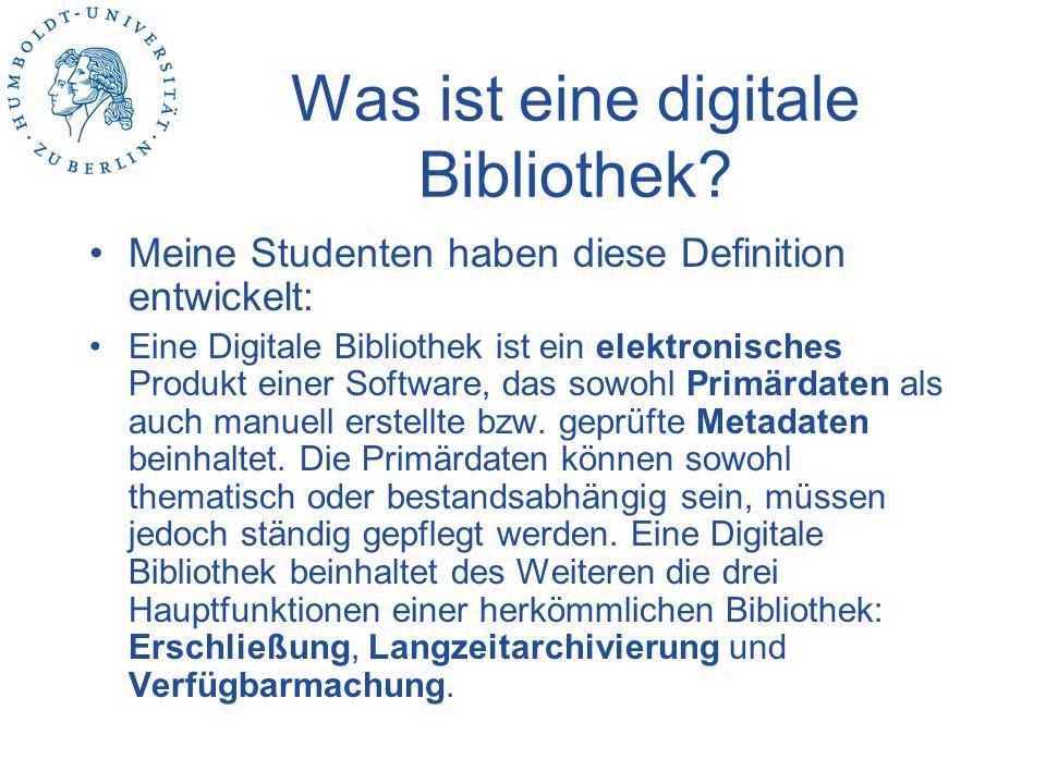 Was ist eine digitale Bibliothek