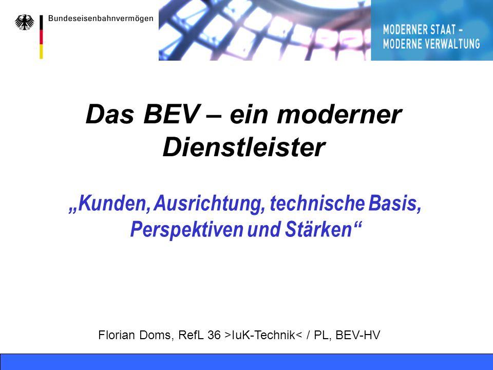 Das BEV – ein moderner Dienstleister
