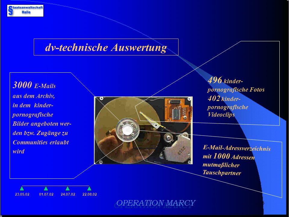 dv-technische Auswertung