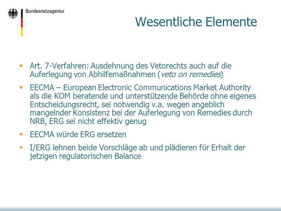 Wesentliche Elemente Art. 7-Verfahren: Ausdehnung des Vetorechts auch auf die Auferlegung von Abhilfemaßnahmen (veto on remedies)