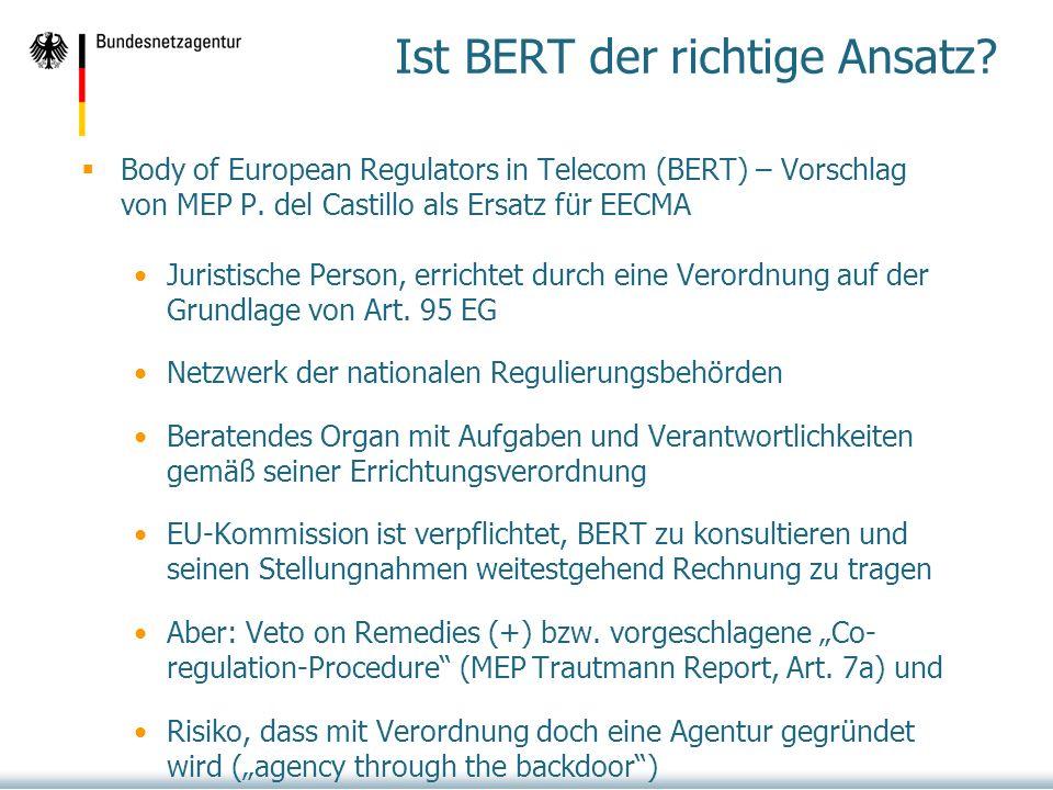 Ist BERT der richtige Ansatz