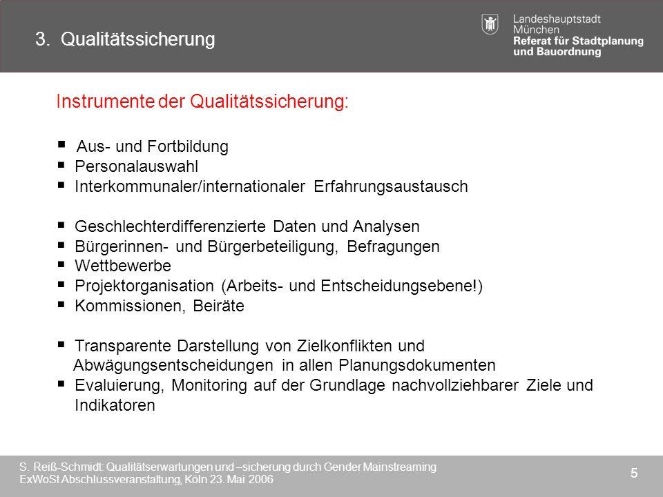 Instrumente der Qualitätssicherung: Aus- und Fortbildung