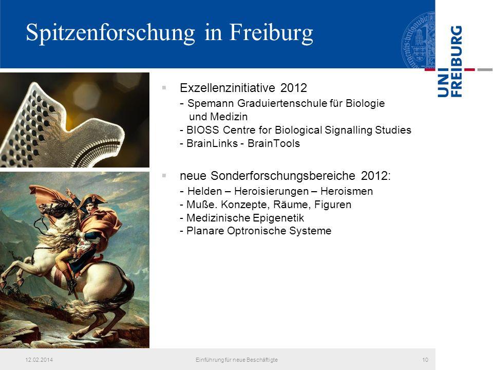 Spitzenforschung in Freiburg